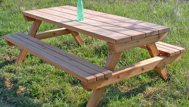 Best Table De Jardin Bois Picnic Photos - Amazing House Design ...
